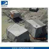 Piedra máquina de corte de alambre vio para el granito del bloque