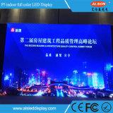 Visualización en pantalla grande de interior de P6 LED para la etapa