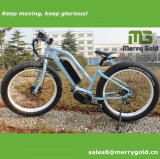 Bicicleta eléctrica del neumático gordo caliente de la venta 2017 con el MEDIADOS DE mecanismo impulsor para las señoras