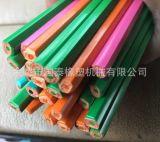 Fabrik-Zubehör-Farben-Plastikbleistift-Strangpresßling-Maschine