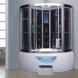 sauna de canto do vapor de 1300mm com Jacuzzi (AT-0212)