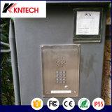 Höhenruder-Wechselsprechanlage-Edelstahl-Rost-Beweis-Telefon des Notruftelefon-Knzd-06 Kntech