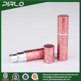 vidro de frasco Refillable do pulverizador do curso do perfume do atomizador 5ml & frasco de alumínio Pocket do atomizador do alumínio com o pulverizador fino da névoa