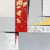 Moderner bunter abstrakter Hauptdekoration-Öl-Segeltuch-Farbanstrich