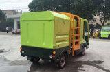 كهربائيّة نفاية شاحنة مع جانب تحميل [س] يوافق