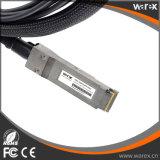 Cavo QSFP-4SFP10G-CU3M 40GBASE-CR4 compatibile QSFP della fibra 4 al cavo 3M di sblocco di 10GBASE-CU DAC