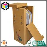 Starke gewölbtes Papier-Garderoben-beweglicher Kasten mit Metall Pole