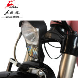 """26 """"前部か後部Vブレーキ(JSL038G-1)が付いているアルミニウムフレームの電気自転車"""