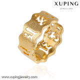 Anillo abierto del llano simple del oro de la joyería 14145 en las ventas para la promoción