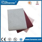 Panneau de mur acoustique de fibre de verre couverte de tissu en gros de la Chine