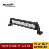 """11 """" barre à haute production d'éclairage LED de CREE chaud de la vente 27W"""