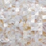 Azulejo de mosaico de agua dulce del color de la naturaleza del shell