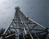 Galvanisierter dreieckiger Stahlgitter-Fernsehturm