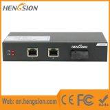 2 1 de gigabit de fibre commutateurs réseau gauches d'Ethernet et