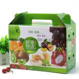 Zoll gedruckte Produkte, die Farben-gewölbten Kasten-Frucht-Verschiffen-Kasten verpacken