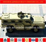 Veículo blindado rodado 4X4 do tipo do tigre de Sinotruk com prova da bala