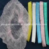 使い捨て可能なNonwovenおよびプラスチック二重伸縮性がある毛の純作成機械