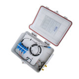 FTTH 광섬유 끝 상자 시스템의 소형 상자 6 포트