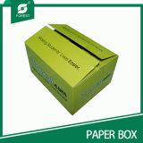 Venda por atacado ondulada da caixa de papel do grande tamanho feito sob encomenda