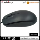 Grande mouse poco costoso nero del calcolatore collegato USB della rotella del rotolo