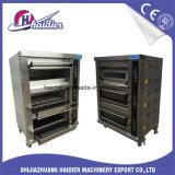 De Apparatuur Commer&simg van de Bakkerij van de catering; Het Gas Ele&simg van Ial; Tri⪞ De⪞ K Oven voor het Baksel van het Brood
