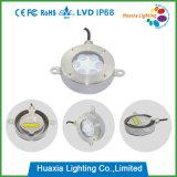 6W Muti 색깔 LED DMX 기능 (HX-HUW115-6W)를 가진 방수 샘 빛