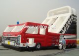 Grand gonflable rouge Camion Slide (SL-001)