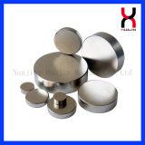 N52 Disco magnético permanente NdFeB disco frigobar Ímã
