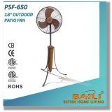 Baili Ventilador de pátio ao ar livre de 18 polegadas para opções de resfriamento