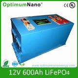 Batteria solare di Un38.3 12V 500ah LiFePO4 con BMS astuto