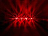 6X40W van het LEIDENE van de Ogen van de bij Licht van DJ van de Disco van het Stadium van de Was het Bewegende HoofdGezoem van de Straal