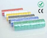Ruban d'isolation électrique en PVC pour le Brésil Market (0.13mmx19mmx5m / 10m / 20)