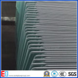 원형 명확한 Nashiji 장식무늬가 든 유리 제품 Deaktop 강화 유리