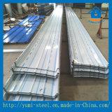 Folhas de metal de alumínio de construção à prova de fogo do perfil de Materia para o revestimento da parede/telhado