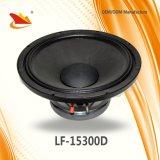 Alta calidad con el precio de fábrica 15 pulgadas 800W RMS subwoofer Speaker