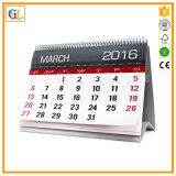 2017 Druk van de Kalender van het Bureau van de Douane de Spiraalvormige Bindende