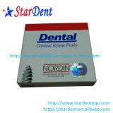 (120PCS/box)金金属によってめっきされる歯科ねじポスト