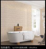 300*600 mm de cristal resistente al agua la pared interior mosaico para el cuarto de baño
