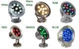 Blu/verde/indicatori luminosi subacquei bianchi freddi dell'acquario dell'indicatore luminoso 220V LED