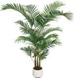 Poliéster Simule Areca Palm Tree com preço de fábrica