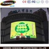 P10 ao ar livre para tela fixa do vídeo do diodo emissor de luz da instalação