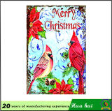 クリスマス、クリスマス、Decorationtinの印C183の金属のPalte映像の壁のReproの絵画