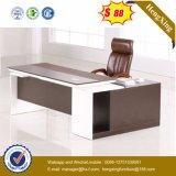 L moderno vector de madera de la oficina ejecutiva del MDF del escritorio de la dimensión de una variable (HX-6M236)
