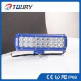 크리 사람 LED IP68 반점 일 표시등 막대 54W LED 차 빛
