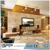 고품질 실내 벽은 자연적인 대리석 벽 도와를 디자인한다