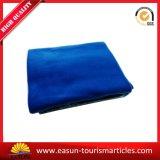 Manta azul barata com bordado