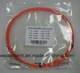 Om2 Koord van het Flard van de Vezel Sc-Sc Multimode Duplex50/125u Optische, 2meter