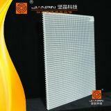 Núcleo quadrado de alumínio de Eggcrate do condicionamento de ar
