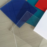 Folha contínua geada Semi transparente do policarbonato para 1.2mm acima