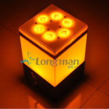 Drahtloses batteriebetriebenes 9X14W LED Hochzeits-Dekoration-Licht